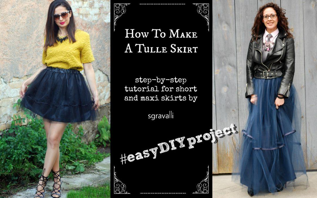 2a38cdaf How to make a tulle skirt • sgravalli